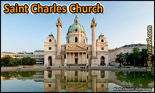 Free Vienna Walking Tour Map Old Town Austria - Saint Charles Church Karlskirche Karlsplatz