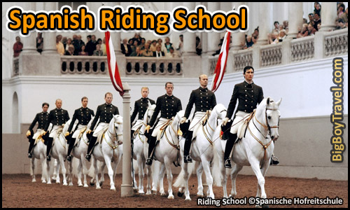 Free Vienna Walking Tour Map Old Town Austria - Spanish Riding School Shows Tours