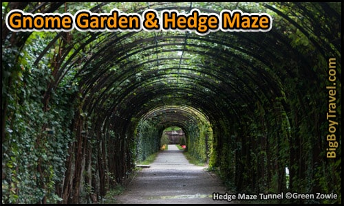 Salzburg Sound of Music Movie Film locations Tour Map - Hedge Maze Tunnel Scene