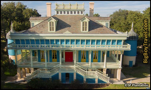 Southern Plantation Mansions Tours Near New Orleans Louisiana - San Francisco