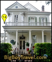Garden District Walking Tour Map New Orleans Free Stained Glass