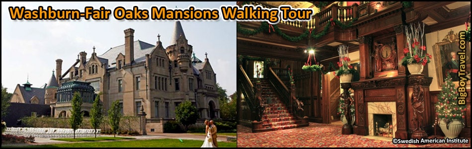 Washburn Fair Oaks Mansions Walking Tour Map Minneapolis – Minneapolis Tourist Attractions Map