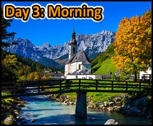 Suggested Itineraries For Berchtesgaden Germany - 3 Days 72 Hours