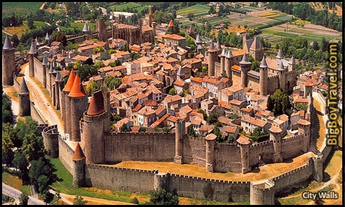 Top 25 Medieval Cities In Europe, Carcassonne France