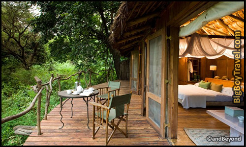 Best Treehouse Hotels In The World, Top 10, Lake Manyara Tree Lodge Tanzania