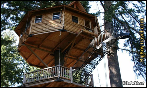 best treehouse hotels in the world top - Treehouse Masters Mirrors