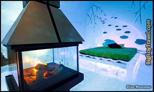 Coolest Hotels In The World, Top Ten, De Glase Ice Hotel Canada