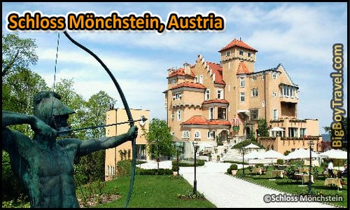 Most Amazing Castle Hotels In The World, Top Ten, Schloss Monchstein Austia