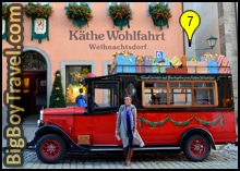 Free Old Town Rothenburg Walking Tour Map - Kathe Wohlfahrt Village German Christmas Museum
