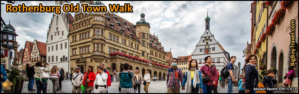 Rothenburg Old Town Walking Tour - Map