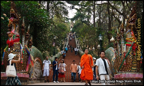 Top Ten Things To Do In Chiang Mai - Wat Doi Suthep Temple