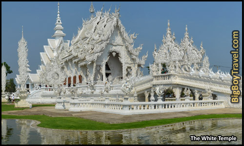 Top Ten Things To Do In Chiang Mai - The White Temple