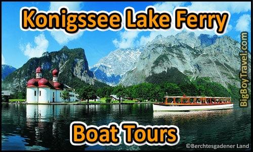 Königssee Lake Ferry Boat Tour In Berchtesgaden - King\'s Lake Tour Map