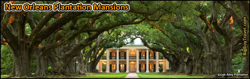 New Orleans Plantation Mansion Tours