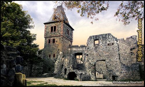 Top Castles In Germany - Burg Frankenstein