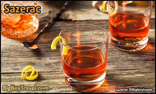 top ten must try drinks in New Orleans best Signature cocktails - Sazerac