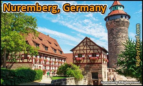 totop ten day trips from munich germany best side trips - nuremberg castle ww2 sites