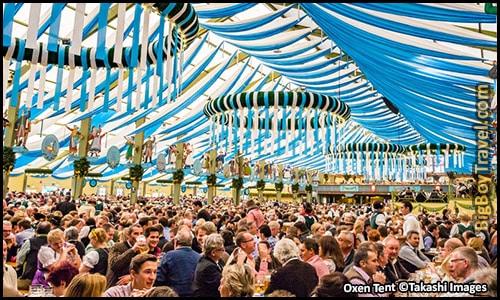 Top 10 Best Beer Tents At Oktoberfest In Munich Germany - Oxen Ochsenbraterei